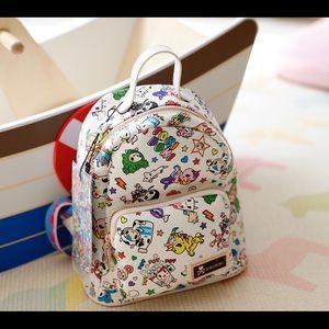 tokidoki white dream mini backpack